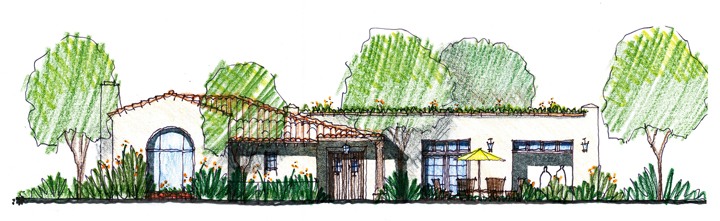 Casa Dorinda Master Plan Project, The Grill